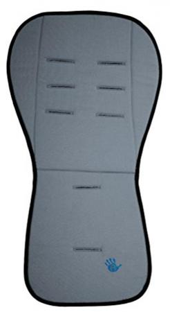 Матрасик-вкладыш 85x44см Altabebe Lifeline Polyester AL3006 (dark grey) матрасик в коляску altabebe mt4021 l стандарт