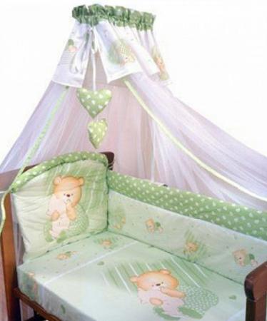 Постельное бельё Золотой Гусь Мишутка (зелёный)