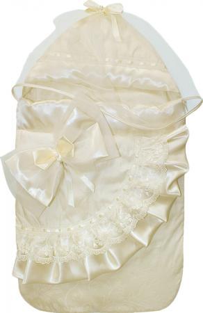 Конверт на выписку 6 предметов Золотой Гусь Лучик (молочный) комплекты на выписку маргарита 7 предметов 012 06b
