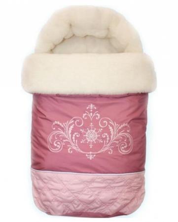 Конверт меховой Золотой Гусь Метелица (розовый) конверт детский золотой гусь золотой гусь конверт меховой снежинка розовый