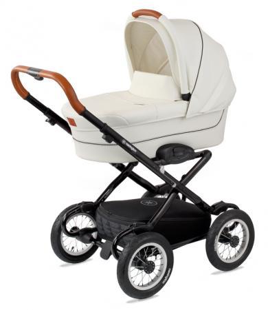 """Коляска для новорожденного Navington Galeon (колеса 12""""/цвет royal snow) сумка для мамы navington stone серый"""