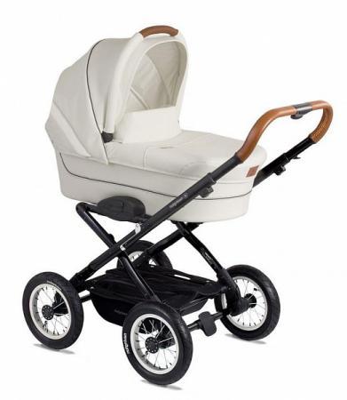 """Коляска для новорожденного Navington Corvet (колеса 12""""/цвет royal snow) сумка для мамы navington stone серый"""