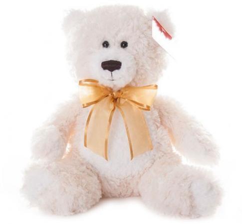 Мягкая игрушка медведь AURORA Медведь 20 см кремовый текстиль искусственный мех aurora медведь коричневый сидячий 61589