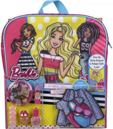 Игровой набор детской декоративной косметики Markwins Barbie с рюкзаком 9709351 детская косметика цептер
