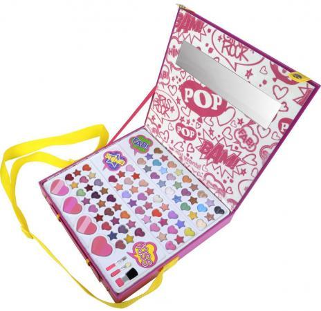 Игровой набор детской декоративной косметики Markwins POP для лица (большой) 3704551 markwins 3600151 pop набор детской декоративной косметики в пенале