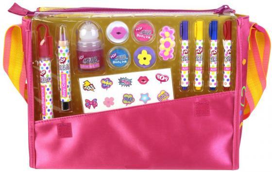 Игровой набор детской декоративной косметики Markwins POP в сумке 3704651 markwins набор детской косметики pop girls