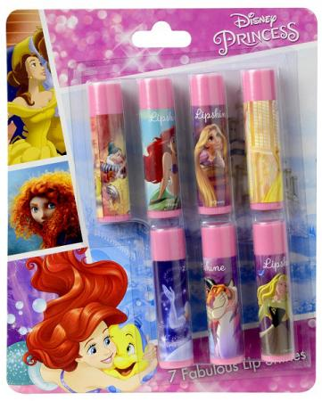 Игровой набор детской декоративной косметики Markwins Princess 7 предметов для губ 9715851