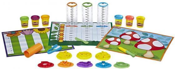 Набор для лепки PLAY-DOH Сделай и измерь Play-Doh Shape & Learn B9016 play doh краски гуашевые 6 цветов