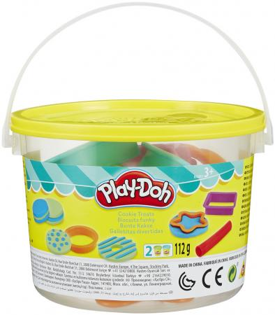 цены Набор для лепки PLAY-DOH Печенье 2 цвета B4453 в ассортименте