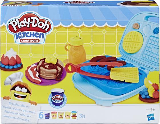 Набор для лепки PLAY-DOH Сладкий завтрак 6 цветов B9739 play doh краски гуашевые 6 цветов