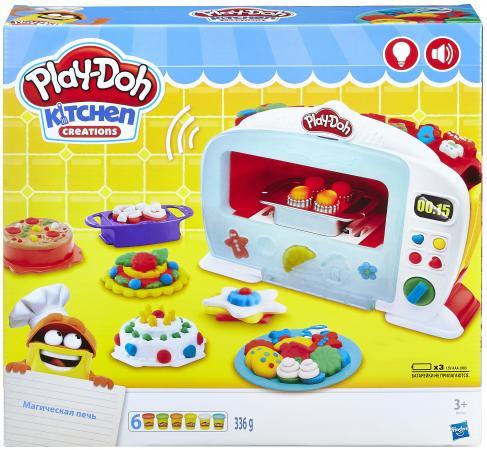 Набор для лепки PLAY-DOH Чудо печь 6 цветов B9740 набор для лепки play doh сладкий завтрак 6 цветов b9739