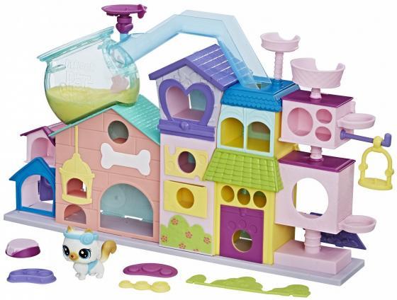 Апартаменты для петов HASBRO Littlest Pet Shop C1158 игровой набор hasbro littlest pet shop зверюшка с волшебным механизмом 4 предмета от 4 лет а5130
