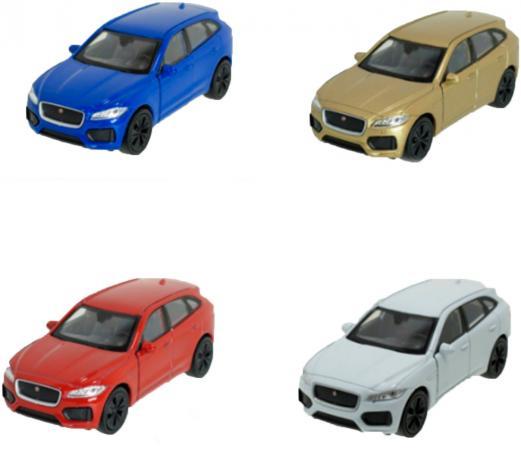 Автомобиль Welly Jaguar F-Pace 43726 1:34-39 цвет в ассортименте в ассортименте автомобиль welly jaguar f pace 1 24 цвет в ассортименте