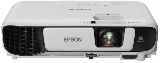 Проектор Epson EB-X41 1024x768 3600 лм 15000:1 белый черный проектор epson eb u05