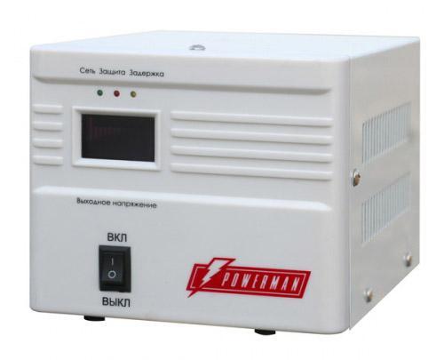 Стабилизатор напряжения Powerman AVS 500A 1 розетка 500a page 1