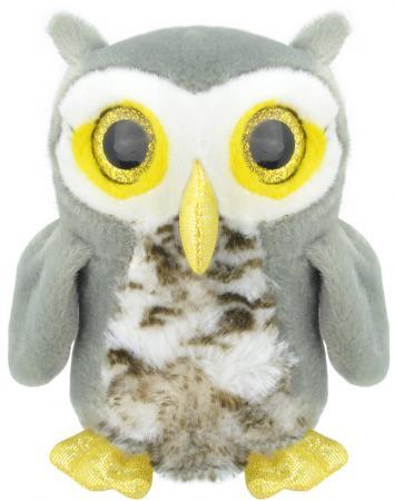Мягкая игрушка сова Wild Planet Совенок K7842 15 см искусственный мех текстиль пластик мягкие игрушки wild planet брелок акула 9 см