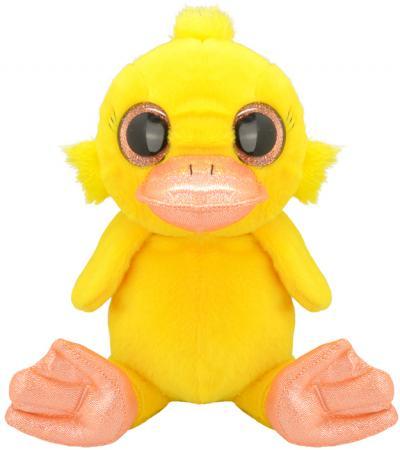 Мягкая игрушка утенок Wild Planet Утенок K7850 15 см желтый искусственный мех текстиль пластик мягкие игрушки plants vs zombies котенок 15 см