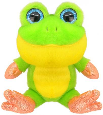 Мягкая игрушка Wild Planet Лягушонок 15 см зеленый искусственный мех K7852 игрушка мягкая смешная лягушка
