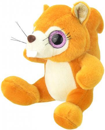Мягкая игрушка Wild Planet Белочка 15 см оранжевый искусственный мех текстиль K7870 kaloo мягкая игрушка заяц белочка 15 см
