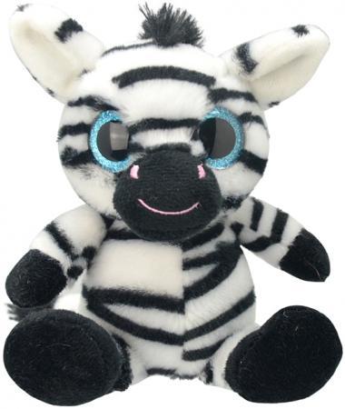 Мягкая игрушка Wild Planet Зебра 20 см искусственный мех текстиль K7873 wild planet bulk wild tuna