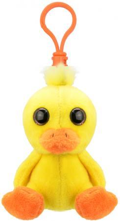 купить Брелок Wild Planet Утёнок 9 см желтый искусственный мех текстиль K8272 дешево