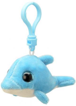 Брелок Wild Planet Дельфин 9 см голубой искусственный мех K8317 брелок поросенок wild planet поросенок 9 см розовый голубой искусственный мех пластик k8177