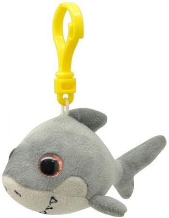 Брелок акула Wild Planet Акула 9 см серый искусственный мех пластик K8318 мягкие игрушки wild planet брелок акула 9 см