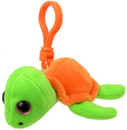 Мягкая игрушка черепаха Wild Planet Черепашка K8319 9 см оранжевый салатовый искусственный мех пластик мягкие игрушки wild planet брелок акула 9 см
