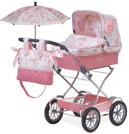 """Коляска для кукол DeCuevas """"Даниэла"""" с сумкой и зонтиком 82021 коляска для кукол 9623 фиолетовая vip toys"""