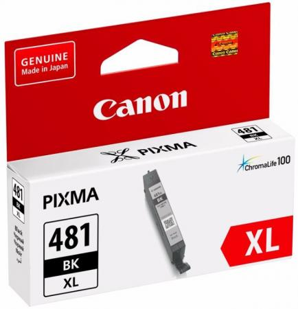 Фото - Картридж Canon CLI-481XL BK для Canon Pixma TS6140/TS8140TS/TS9140/TR7540/TR8540 черный 2047C001 meike fc 100 for nikon canon fc 100 macro ring flash light nikon d7100 d7000 d5200 d5100 d5000 d3200 d310