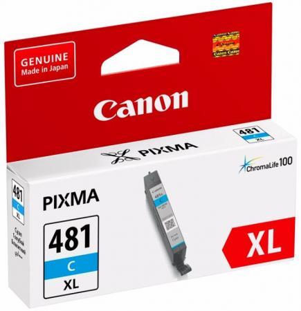 Картридж Canon CLI-481XL C для Pixma TS6140/TS8140TS/TS9140/TR7540/TR8540 голубой 2044C001 картридж canon cli 481 для canon pixma ts6140 ts8140ts ts9140 tr7540 tr8540 1010557 black