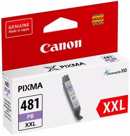 Картридж Canon CLI-481XXL PB для Canon Pixma TS8140TS/TS9140 фото голубой 1994C001 картридж canon cli 481xl для canon pixmats8140ts ts9140 1010568 голубой