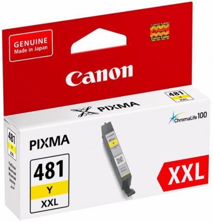 Картридж Canon CLI-481XXL Y для Canon Pixma TS6140/TS8140TS/TS9140/TR7540/TR8540 желтый 1992C001 картридж canon cli 481xxl bk для canon pixma ts6140 ts8140ts ts9140 tr7540 tr8540 черный 1993c001