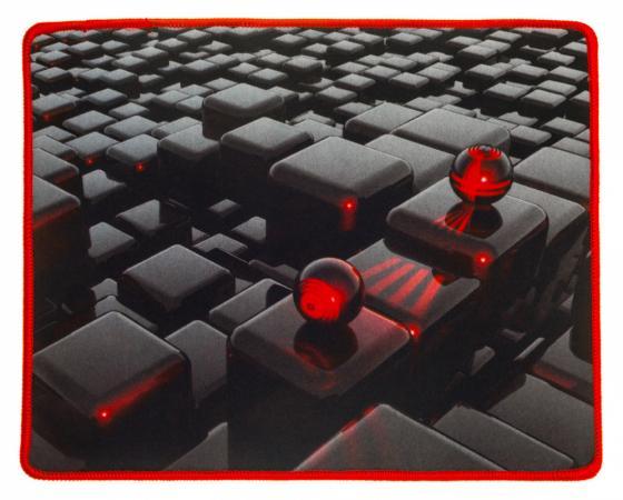 Купить Коврик для мыши Oklick OK-F0282 рисунок матрица, Рисунок, Ткань, Каучук