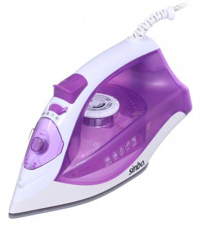цена на Утюг Sinbo SSI 6618 2200Вт фиолетовый белый