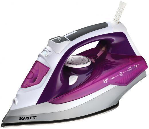 Утюг Scarlett SC-SI30P05 2400Вт фиолетовый утюг supra is 2402 2400вт