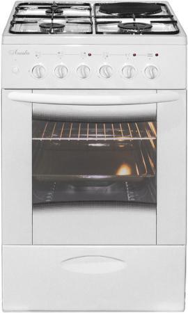 Комбинированная плита Лысьва ЭГ 1/3Г01 МС-2У белый цена