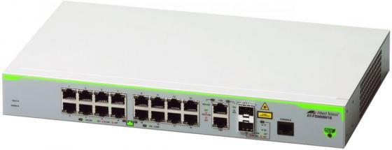 Коммутатор Allied Telesis AT-FS980M/18-50 управляемый 16 портов 10/100Mbps 2xSFP коммутатор allied telesis at gs950 24 управляемый 24xgblan 2xsfp