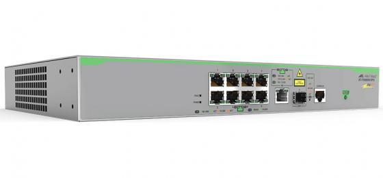 Коммутатор Allied Telesis AT-FS980M/9PS-50 управляемый 8 портов 10/100TX SFP коммутатор allied telesis at fs980m 18 50