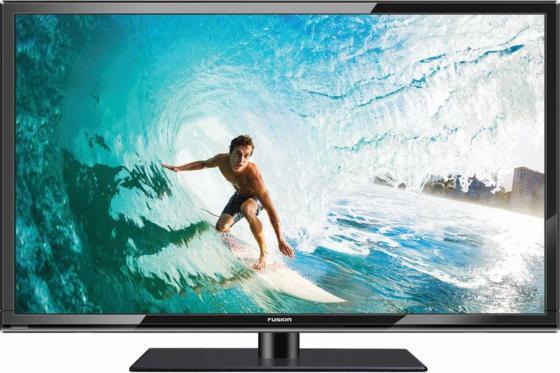 Телевизор LED 22 FUSION FLTV-22C100 черный 1920x1080 HDMI USB VGA led телевизор erisson 40les76t2