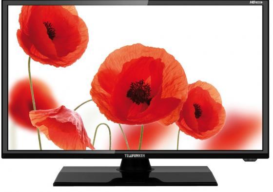 Телевизор LED 19 Telefunken TF-LED19S14T2 черный 1366x768 USB HDMI VGA S/PDIF телевизор telefunken tf led19s14t2