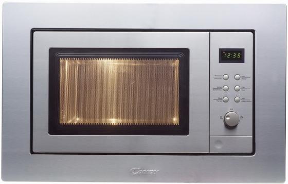 Микроволновая печь Candy MIC 201 EX 800 Вт серебристый встраиваемая микроволновая печь candy mic 201 ex