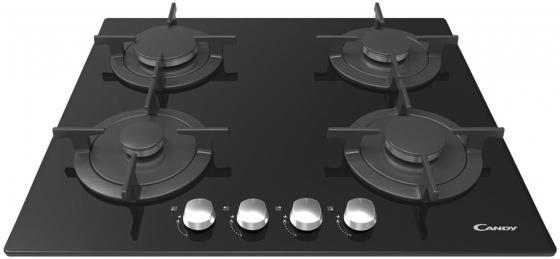 Варочная панель газовая Candy CVG 64 SGNX черный варочная панель газовая candy cpgc 64sqpgh черный