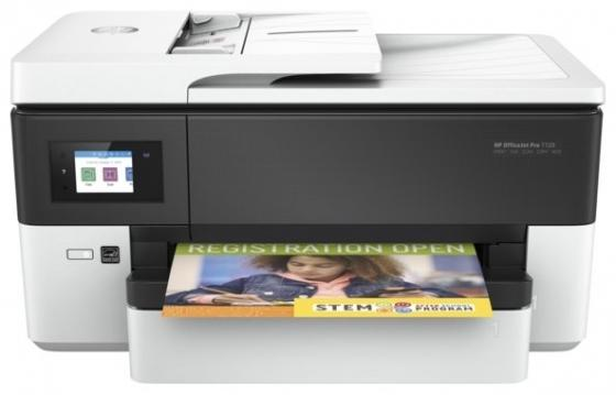 Фото - МФУ HP OfficeJet Pro 7720 Y0S18A цветное A3 34ppm 1200x1200dpi Ethernet Wi-Fi USB мфу panasonic dp mb545ru ч б a3 45ppm 1200x1200dpi дуплекс ethernet usb wi fi бело черный