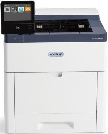 Принтер Xerox VersaLink C500V_N цветной A4 43ppm 1200x2400dpi Ethernet USB принтер xerox versalink c400dn цветной a4 35ppm 600х600 ethernet usb