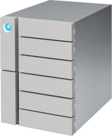 Сетевое хранилище LaCie 6big Thunderbolt 3 6x3,5 STFK12000400 внешний жесткий диск lacie 9000304 silver