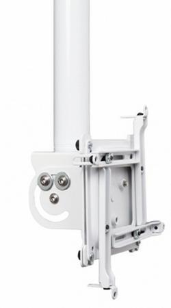 Комплект монтажный поворотный Chief VPAUW для крепления проектора к подвесному потолку 8.89 кг до 34 кг белый кронштейн для проектора chief cms006b black