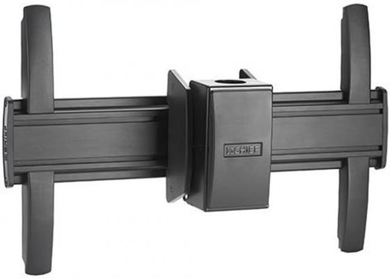 Крепление потолочное Chief LCM1U для плоскопанельных мониторов FUSION от +5° до -20° до 56.7 кг Landscape 200x100 - 616x400 mm крен +/- 3° черный крепление chief cpa116 потолочное шарнирное для штанги до 34 кг
