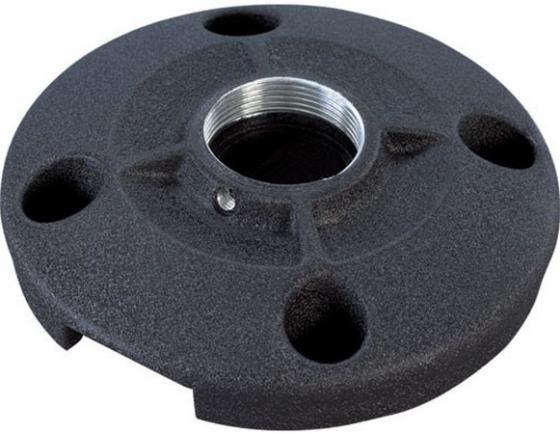 Площадка круглая Chief CMS115W для крепления штанги проектора к потолку 0.91 кг нагрузка до 226.8 кг белый кронштейн для проектора chief cms006b black