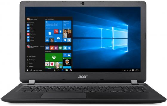 "Ноутбук Acer Aspire ES1-572-357S 15.6"" 1920x1080 Intel Core i3-6006U 2 Tb 8Gb Intel HD Graphics 520 черный Linux NX.GDOER.035 ноутбук acer aspire es1 572 31vt 15 6"